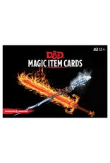 Dungeons & Dragons D&D Magic Item Cards