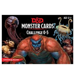 Dungeons & Dragons D&D Monster Cards: Challenge 0-5