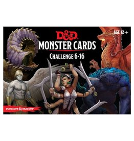 Dungeons & Dragons D&D Monster Cards: Challenge 6-16