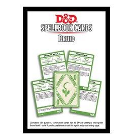 Dungeons & Dragons D&D Spellbook Cards: Druid Deck