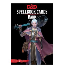 Dungeons & Dragons D&D Spellbook Cards: Bard Deck