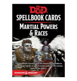 Dungeons & Dragons D&D Spellbook Cards: Martial & Race Deck