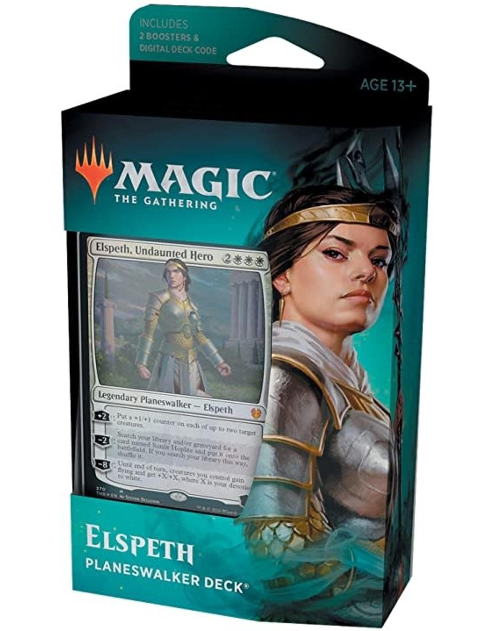Magic: The Gathering Theros Beyond Death Elspeth Planeswalker Deck