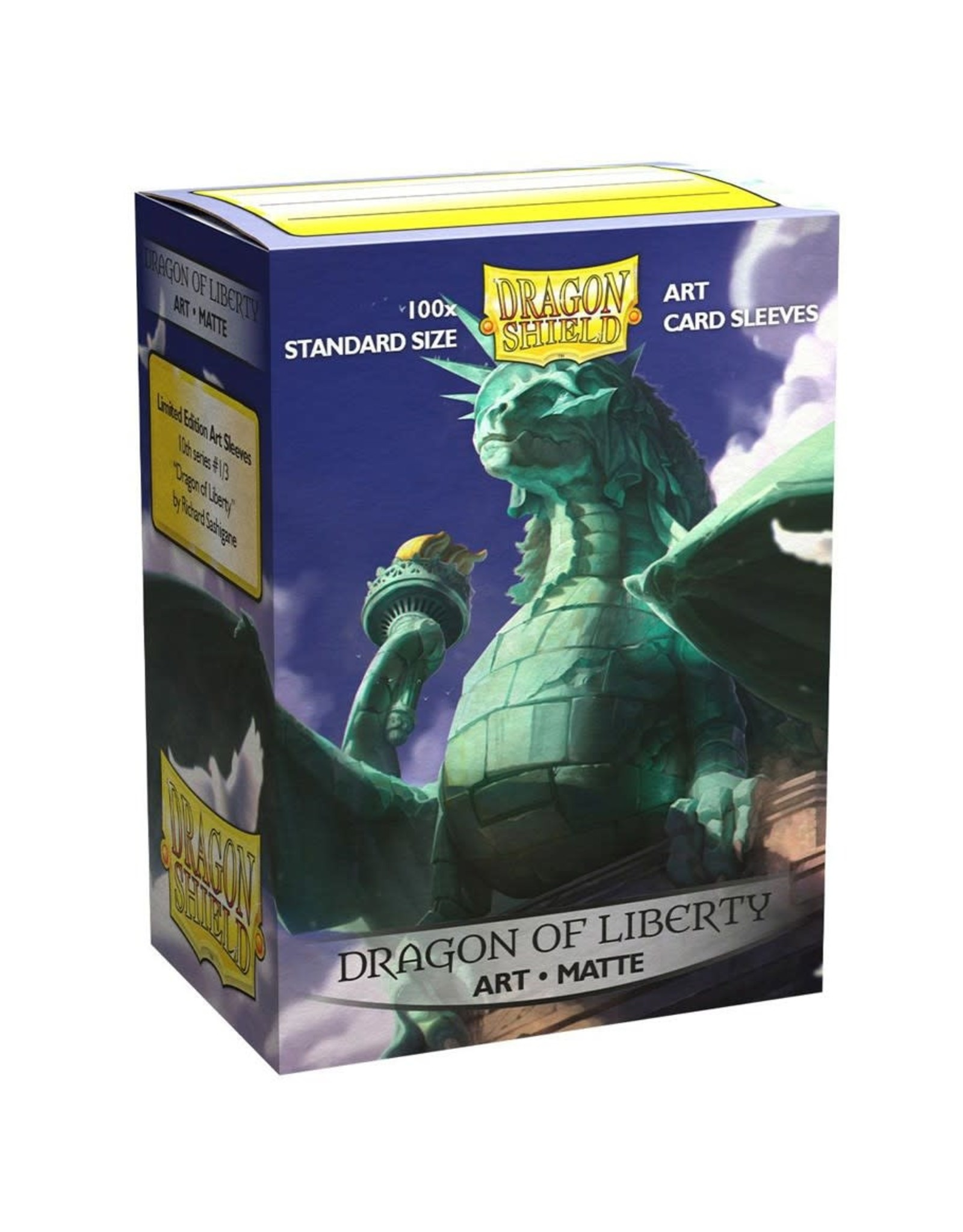 Matte Art Dragon Shields: Dragon of Liberty