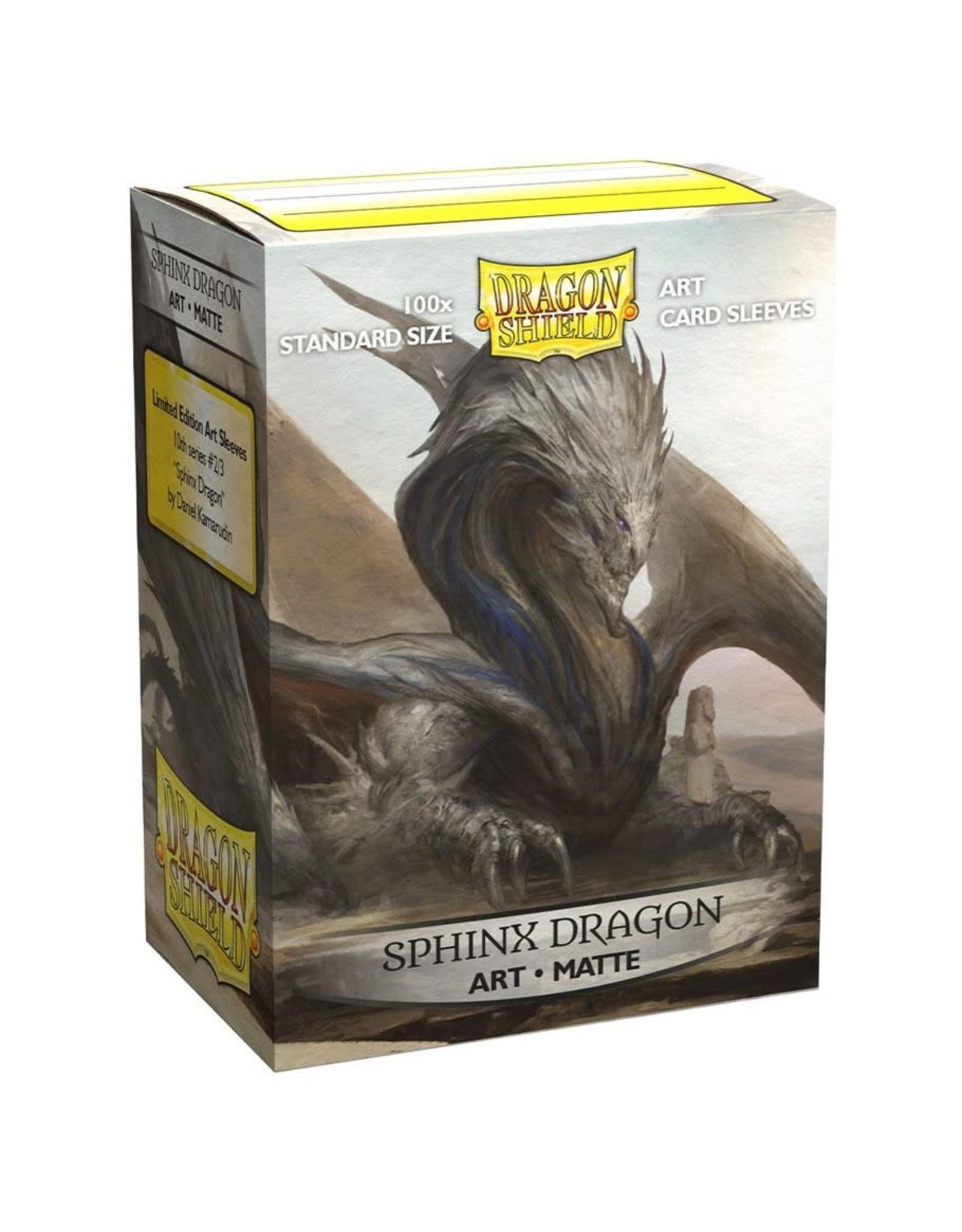 Matte Art Dragon Shields: Sphinx Dragon