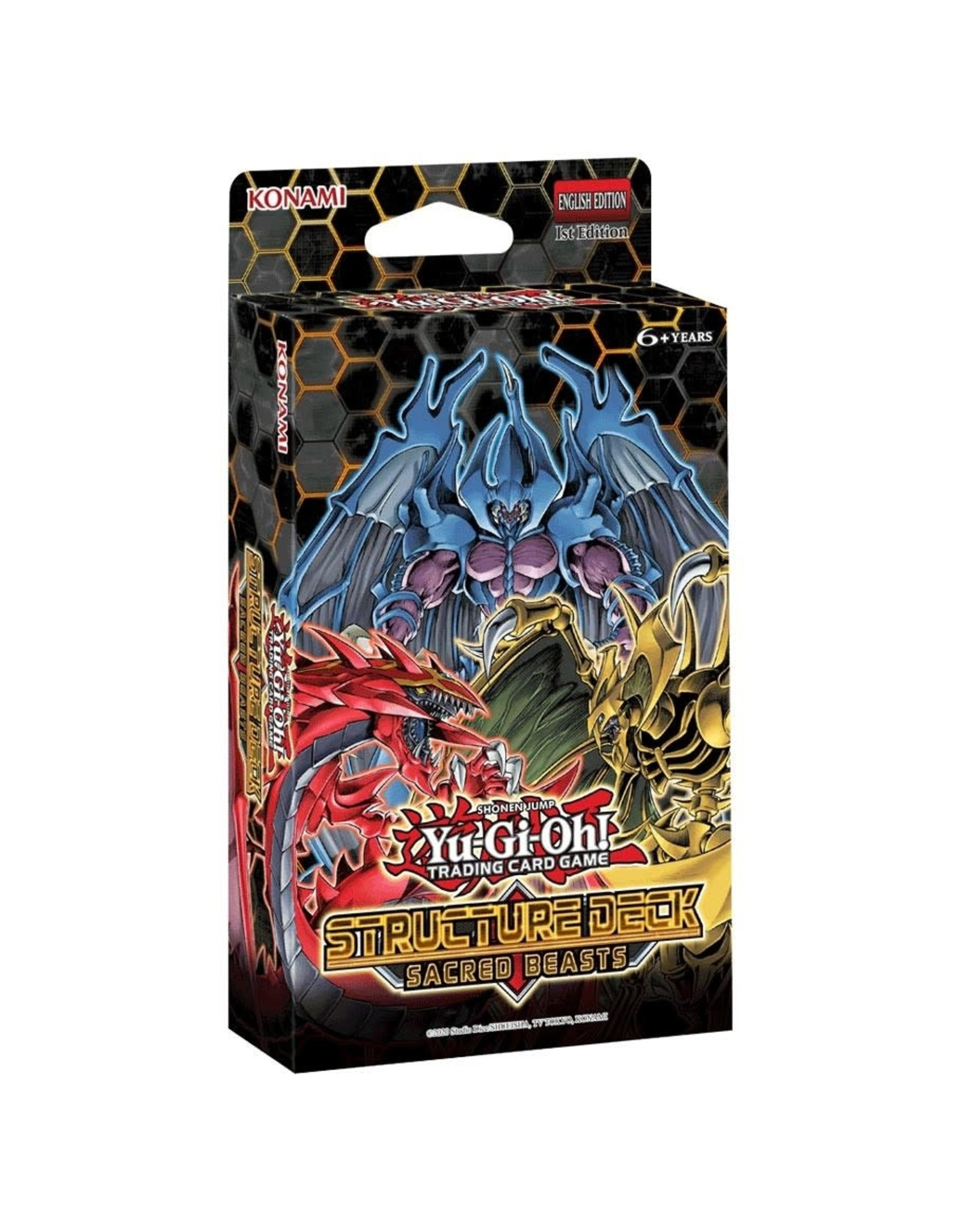 Sacred Beasts Structure Deck PREORDER JULY 10, 2020