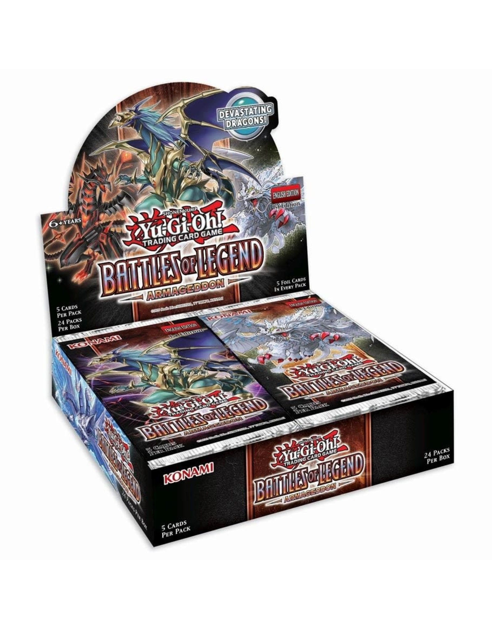 Battles of Legend Armageddon Booster Box - PREORDER, AVAILABLE JULY 24, 2020