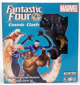 Marvel HeroClix: Fantastic Four Cosmic Clash Starter Set (6 Figure Starter)