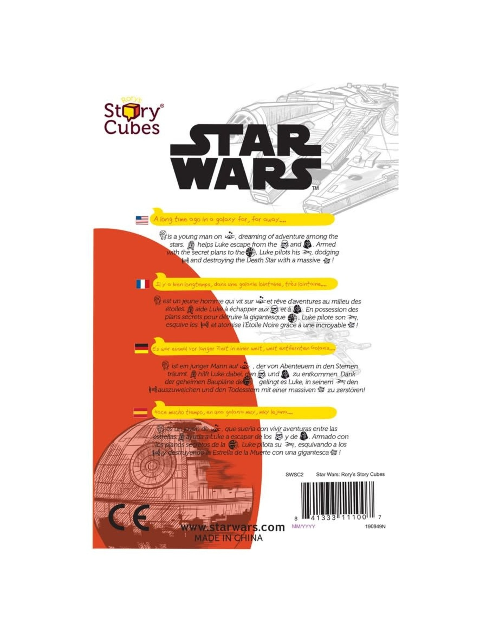 Rory's Story Cubes: Star Wars