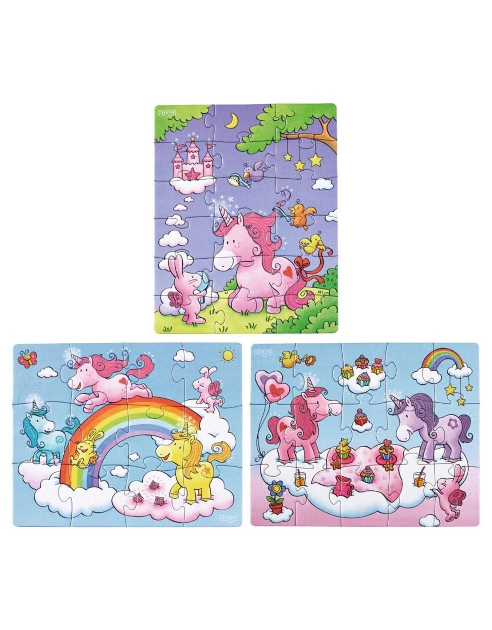 Puzzle: Unicorn Glitterluck Multipack