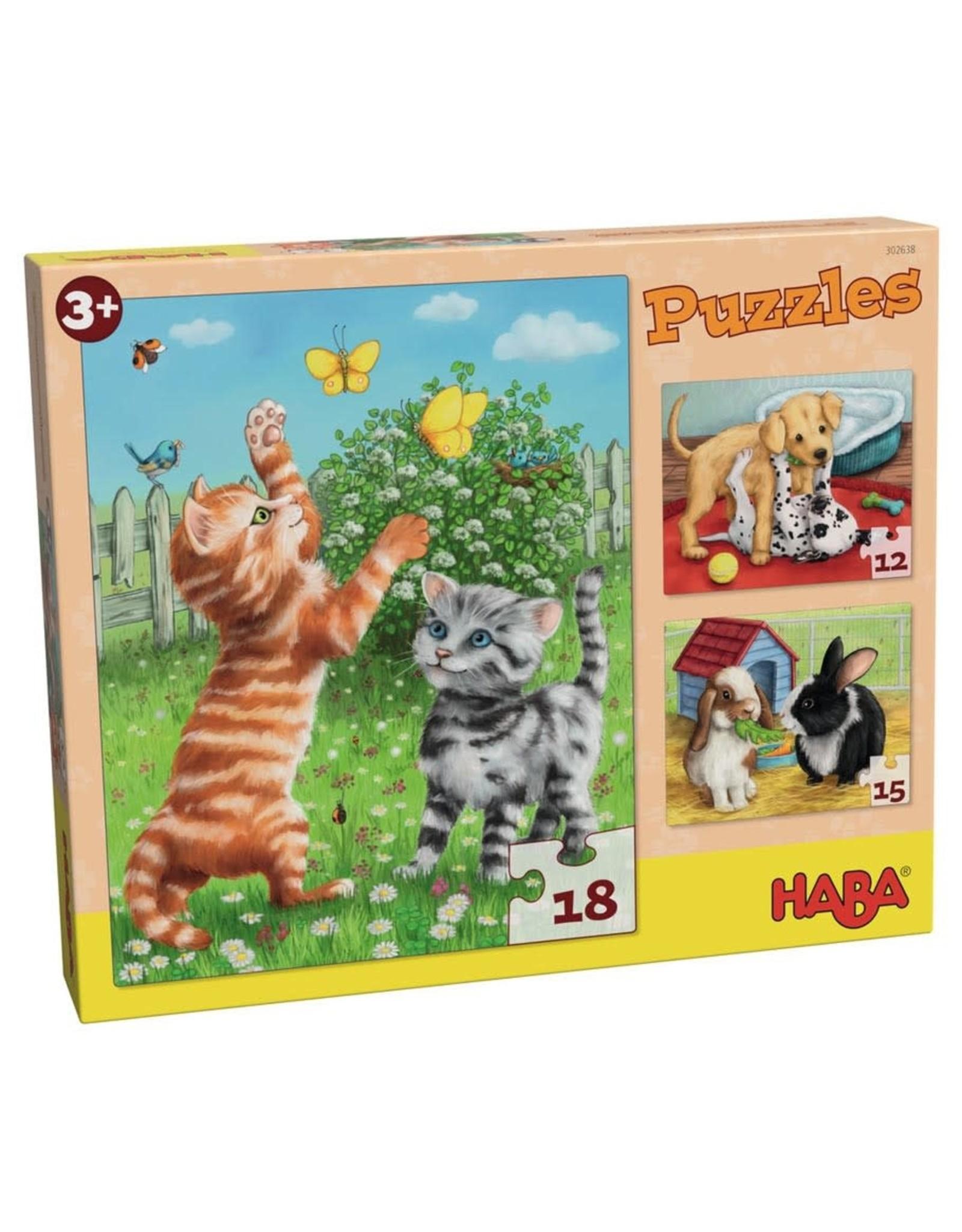 Puzzle: Pets Multipack