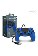 Wired Game Controller for PS4 / PC / Mac (Blue) - Armor3