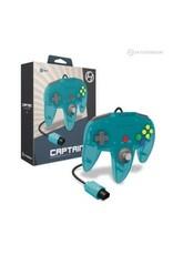 """Captain"" Premium Controller For N64® (Turquise) - Hyperkin"