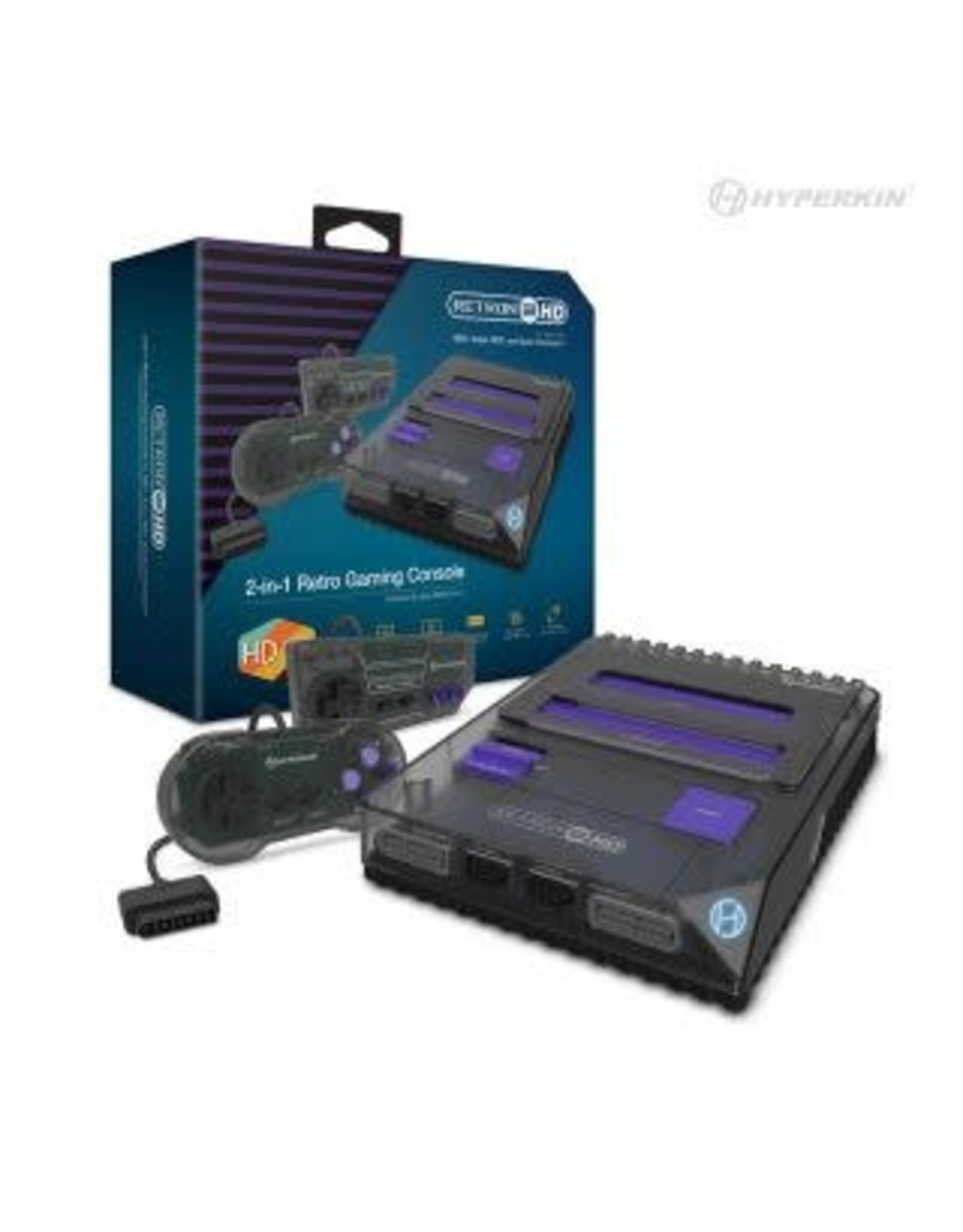 RetroN 2 HD Gaming Console for NES/ Super NES (Space Black)