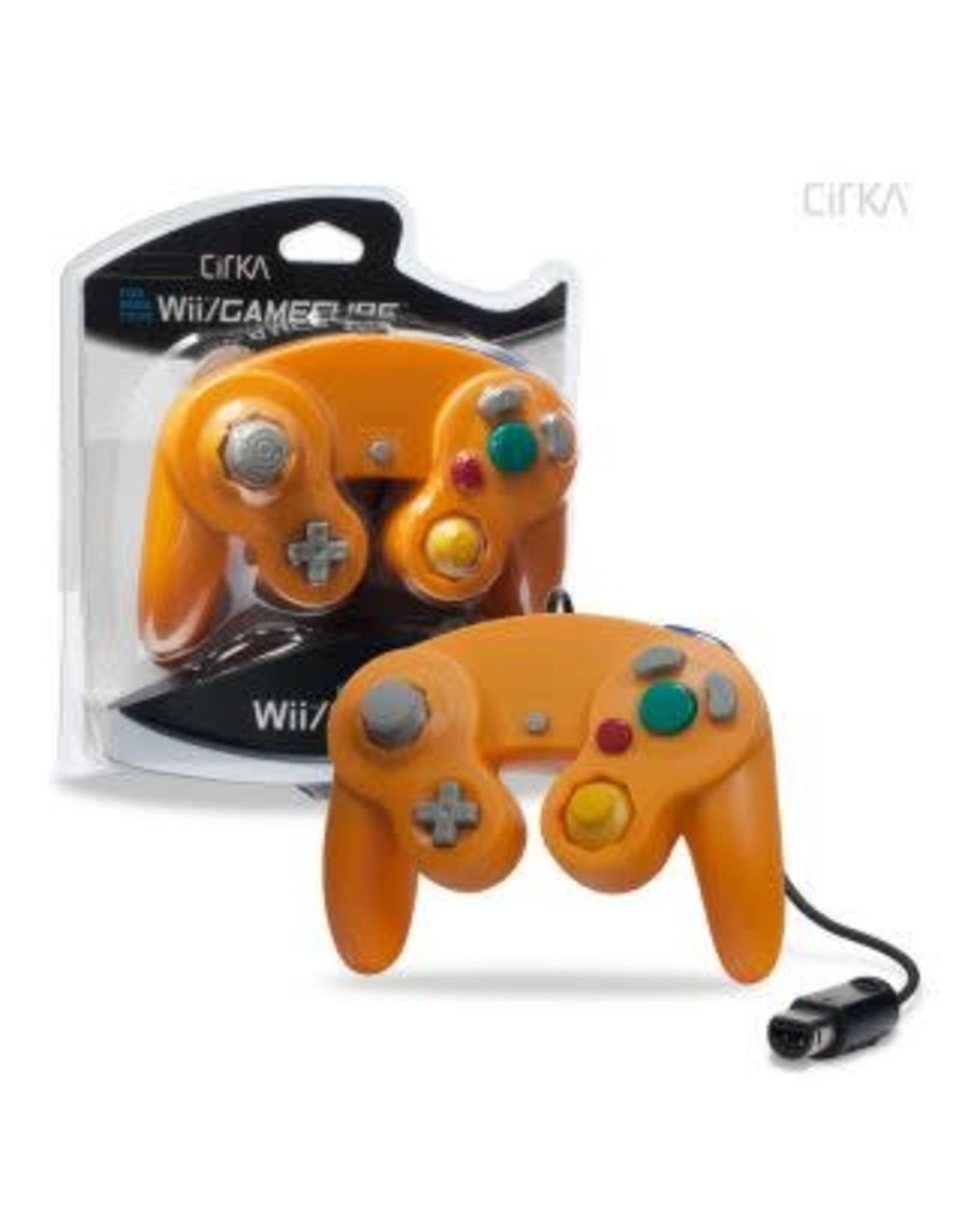 Wired Controller For Gamecube®/ WII® (Orange)