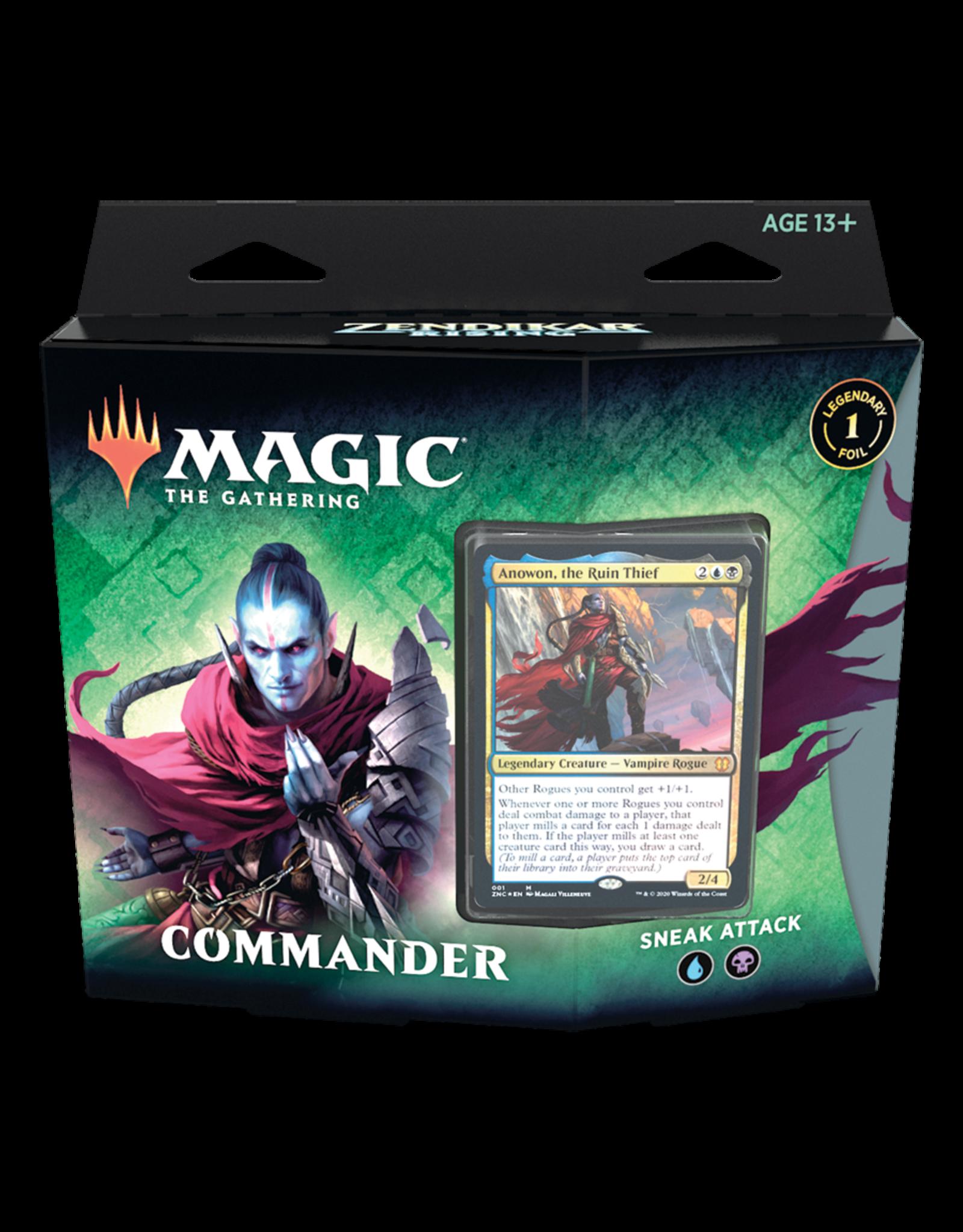 Zendikar Rising Commander Deck - Sneak Attack