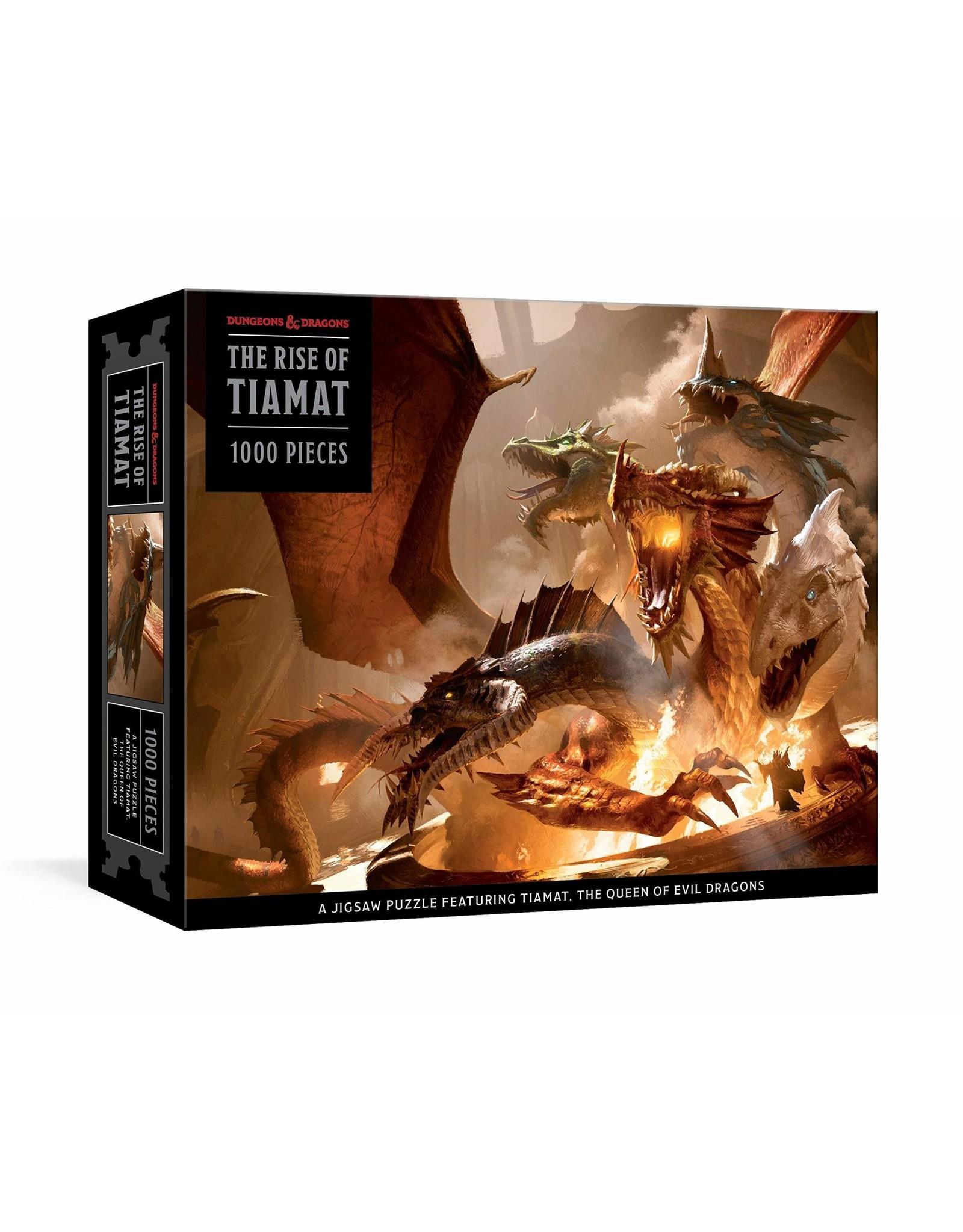 Puzzle: D&D: The Rise of Tiamat Dragon