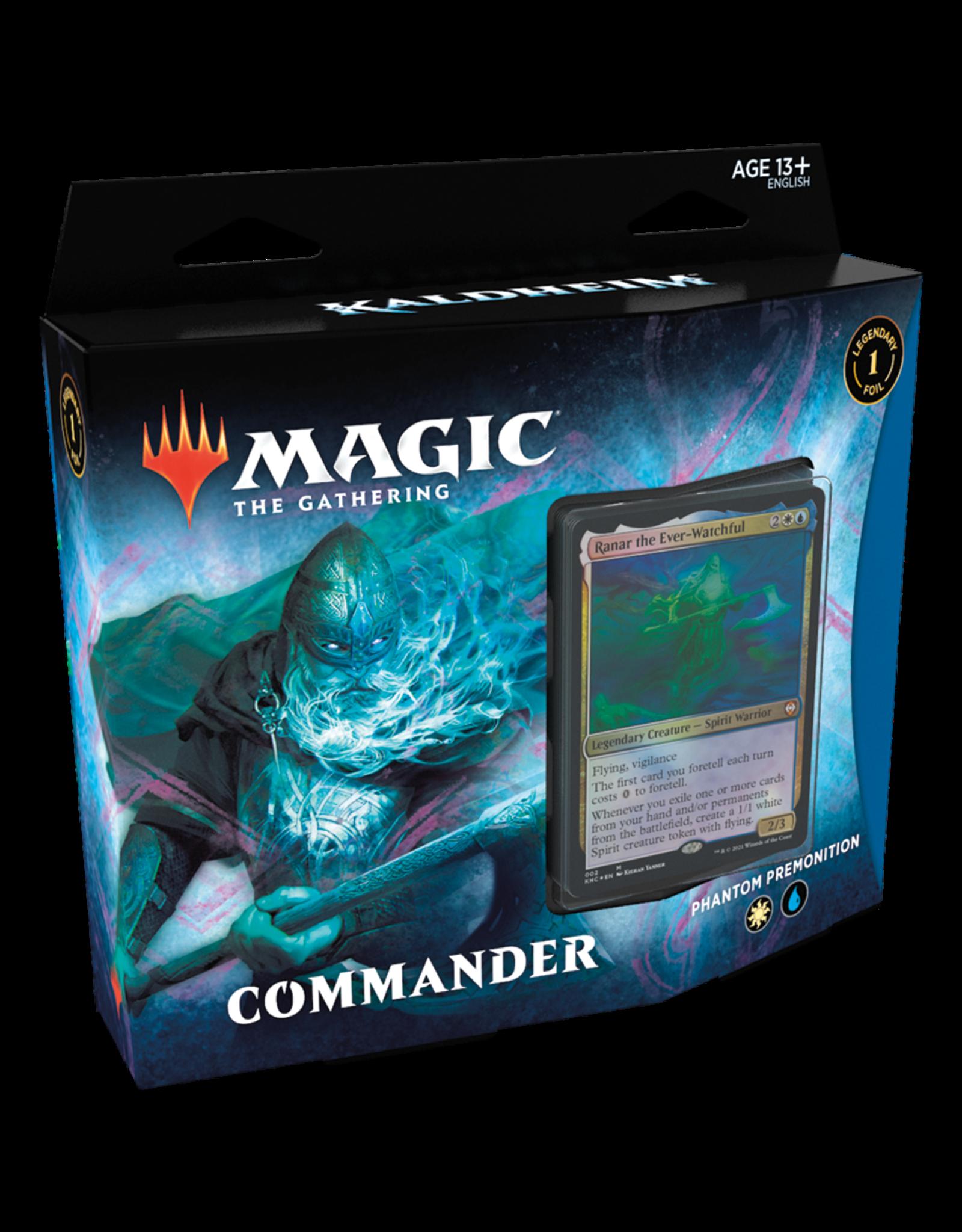 Kaldheim Commander Deck - Phantom Premonition (WU) - AVAILABLE FEB 5