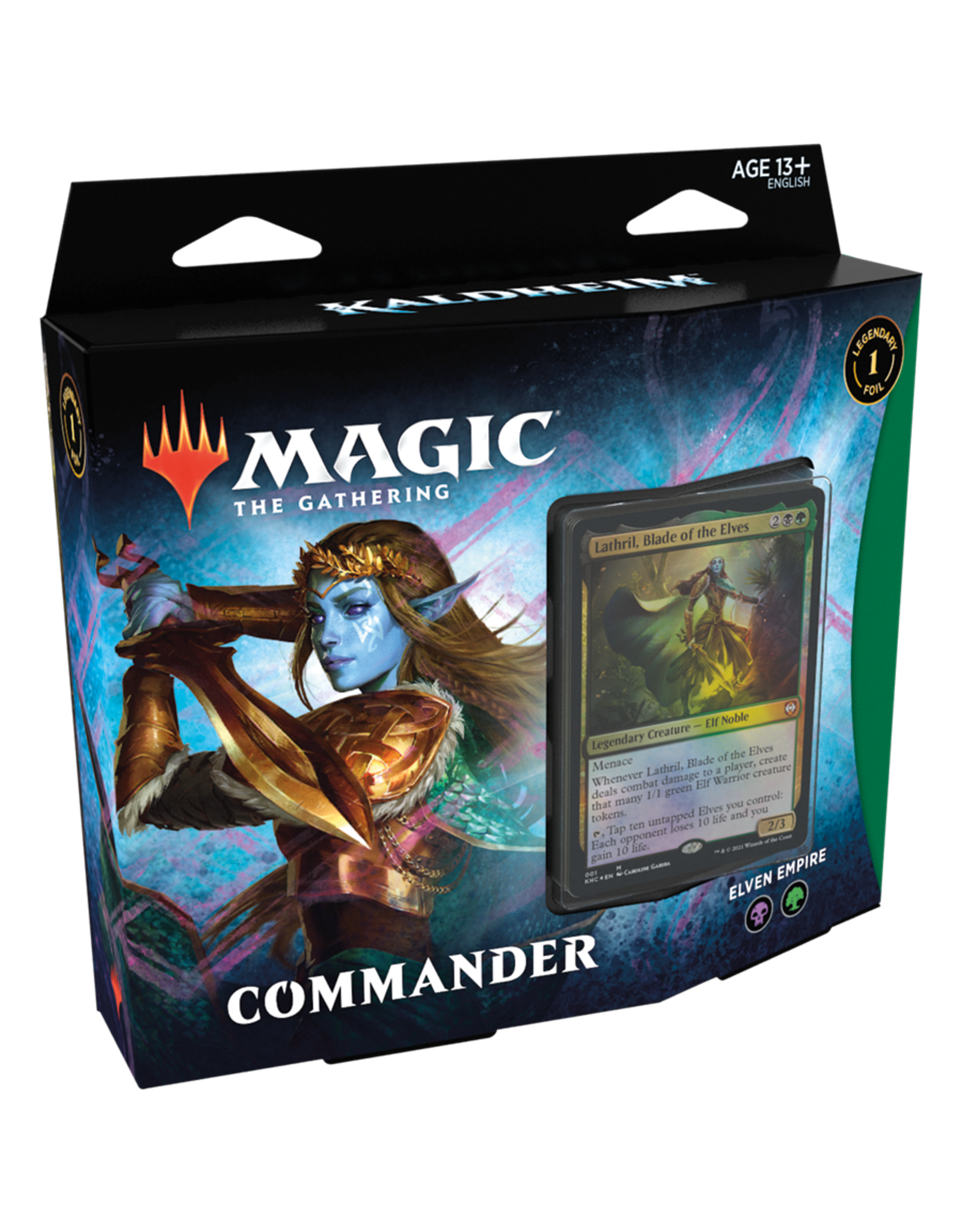 Kaldheim Commander Deck - Elven Empire (BG) - AVAILABLE FEB 5