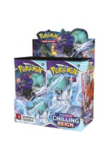 Sword & Shield 6: Chilling Reign Booster Box - WAVE ONE PREORDER, AVAILABLE JUNE 18
