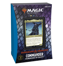 Adventures in the Forgotten Realms (AFR) Commander Deck - Dungeons of Death (WUB)