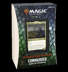 Adventures in the Forgotten Realms (AFR) Commander Deck - Aura of Courage (GWU)