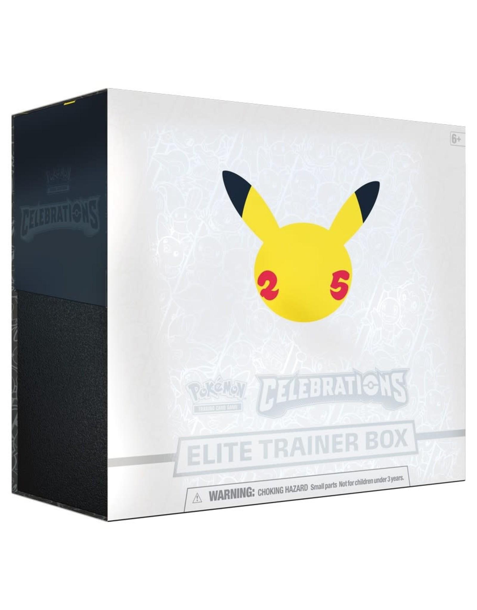 Pokemon: Celebrations Elite Trainer Box - PREORDER, AVAILABLE OCT 8