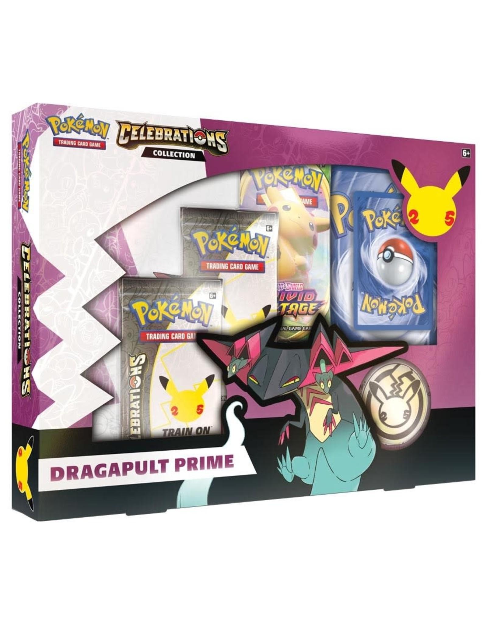 Pokemon Celebrations: Dragapult Prime - PREORDER, AVAILABLE OCT 8