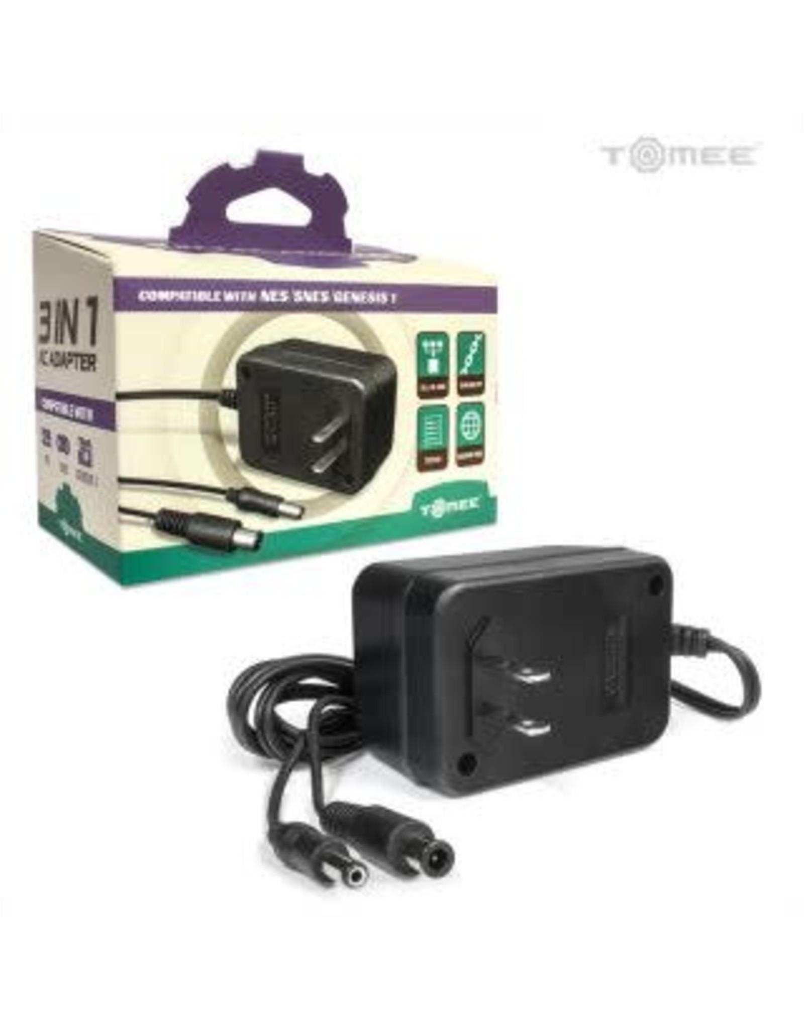 3 in 1 Universal AC Adapter for Super NES / NES / Genesis