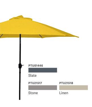 9ft Umbrella with Crank and Tilt