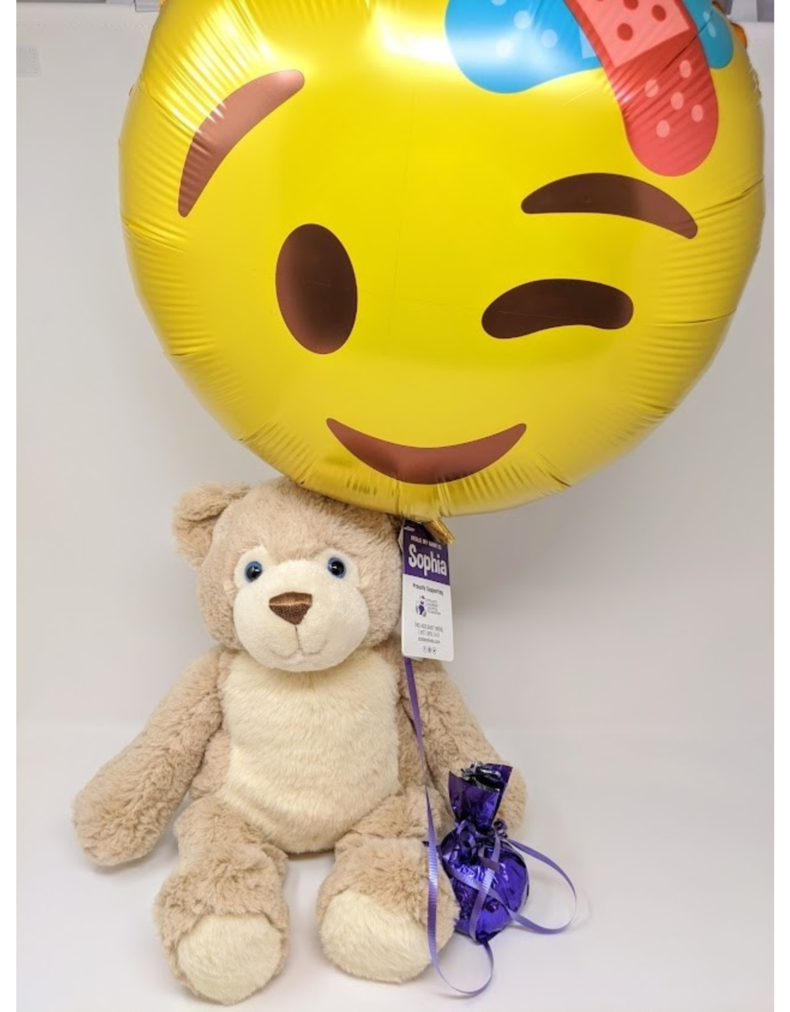 Sophia Bear & Balloon - large