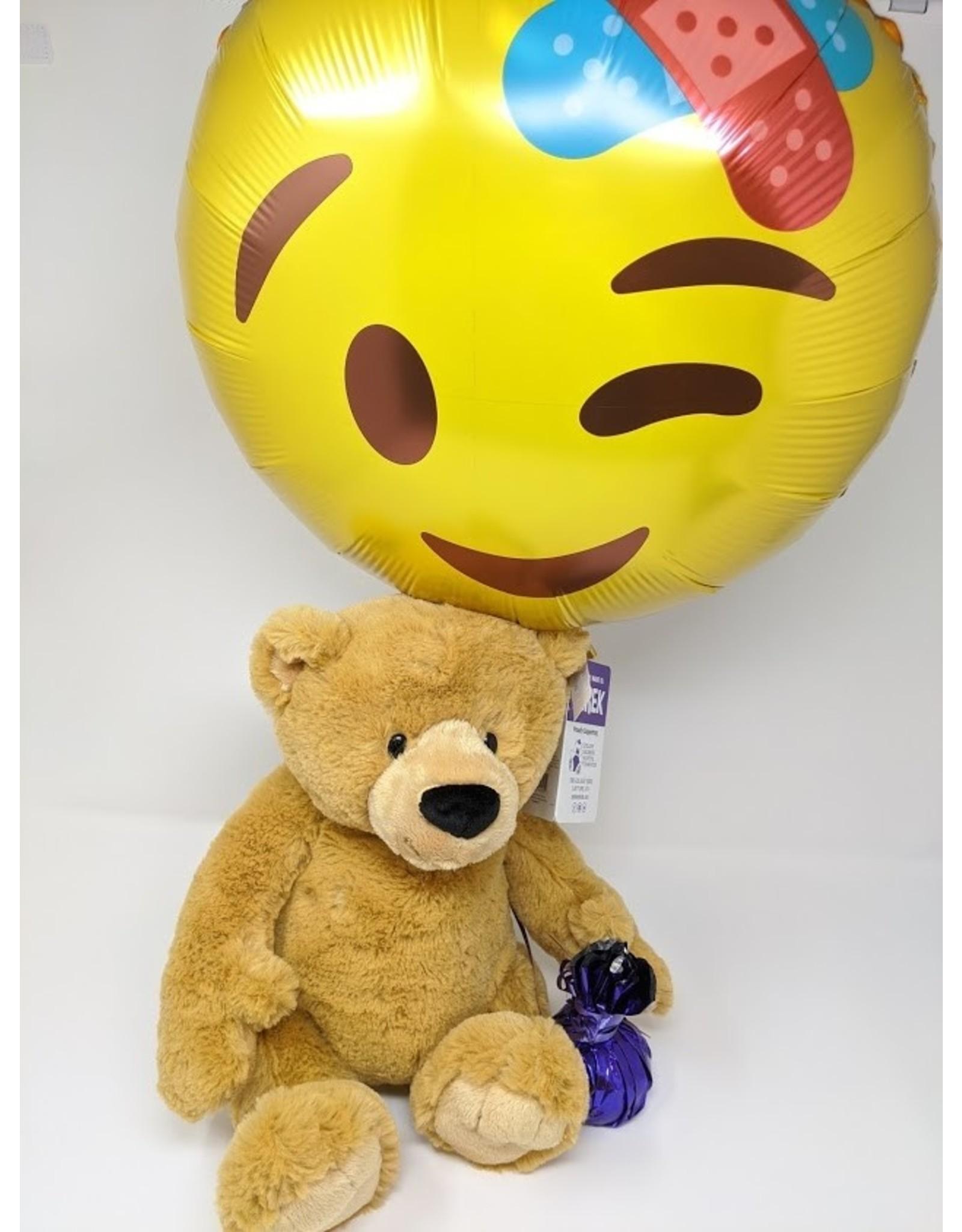 Derek Bear & Balloon - large