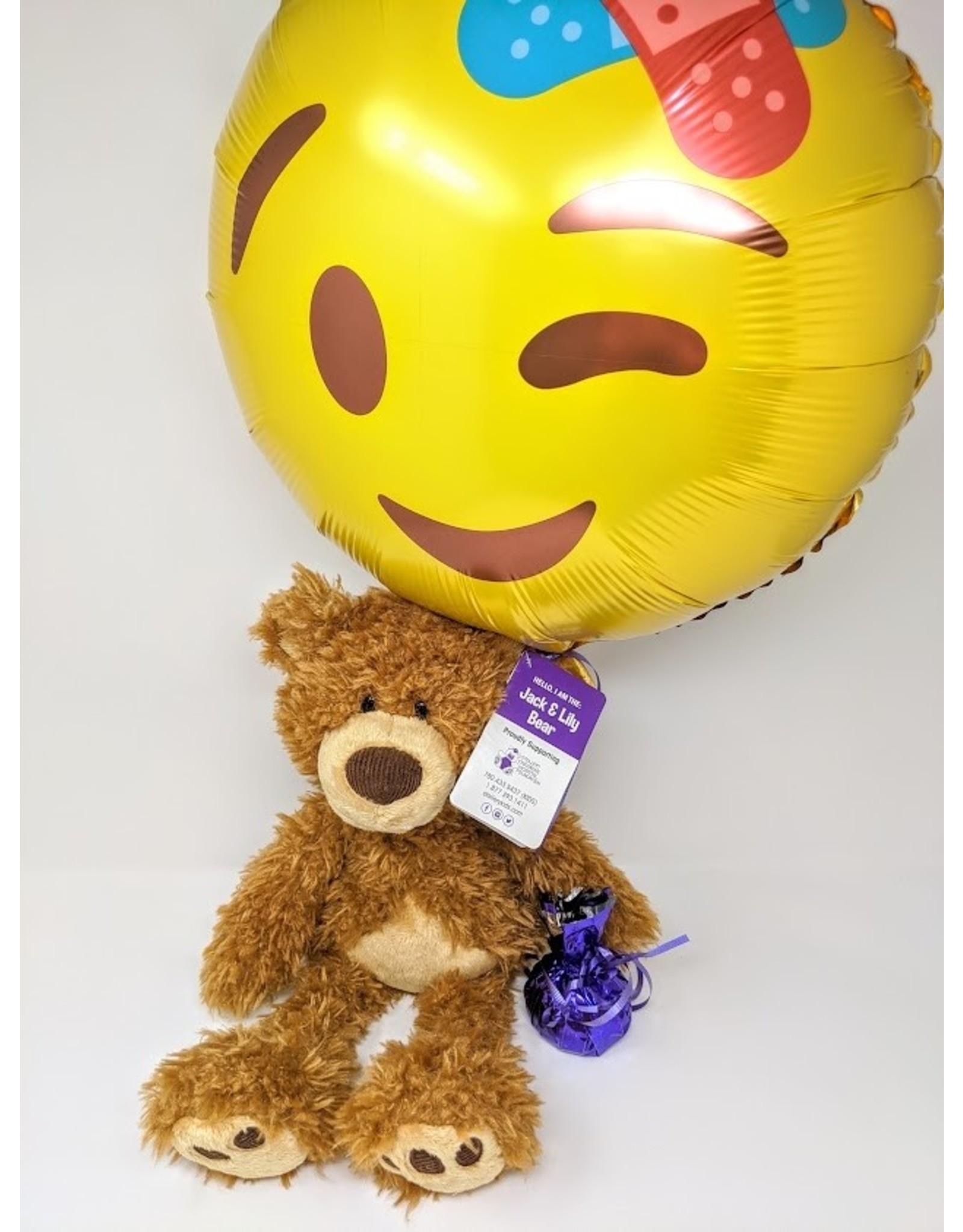 GUND Jack & Lily Bear & Balloon - large