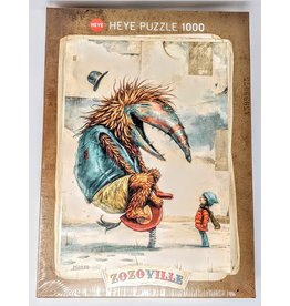 Zozoville Puzzle (1000 piece) - spring time