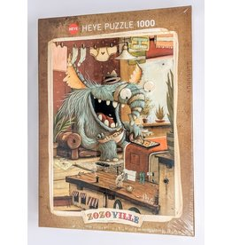 Zozoville Puzzle (1000 piece) - laundry day