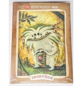 Zozoville Puzzle (1000 piece) - veggie