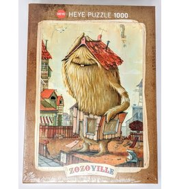 Zozoville Puzzle (1000 piece) - neighborhood