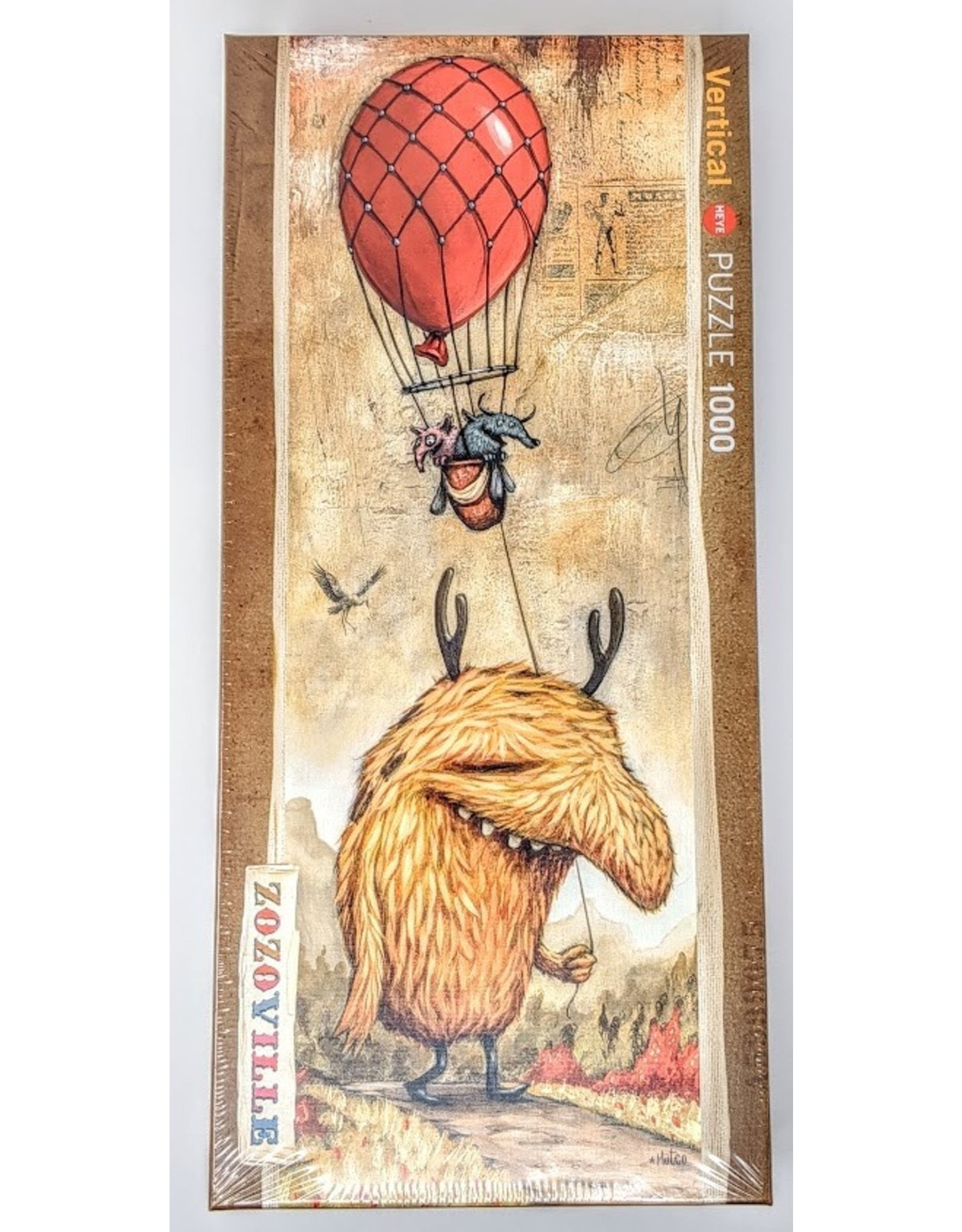 Zozoville Puzzle (1000 piece) - red balloon
