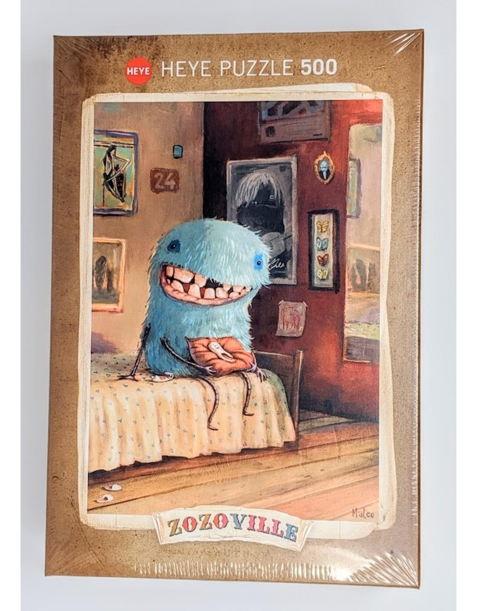 Zozoville Puzzle (500 piece) - milk tooth
