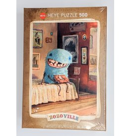 Zozoville Puzzle (500 piece) - milk tooth