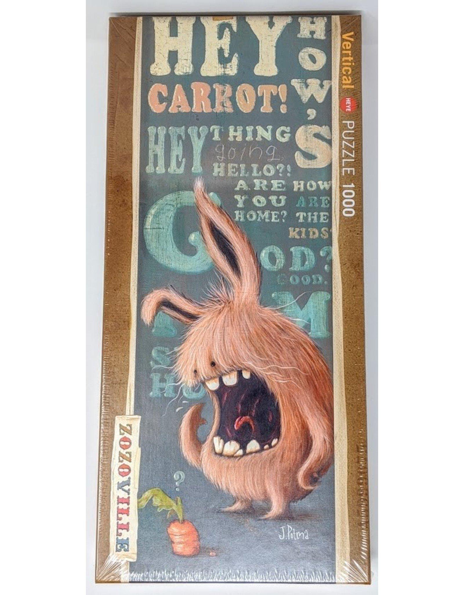 Zozoville Puzzle (1000 piece) - carrot