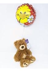 GUND Jack & Lily Bear & Balloon - Small