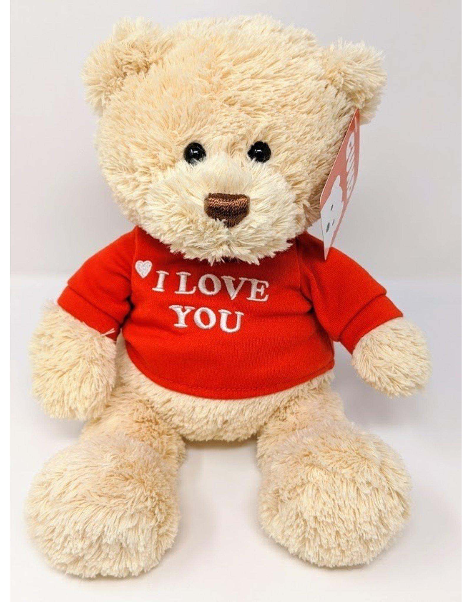 I Love You Bear - red shirt