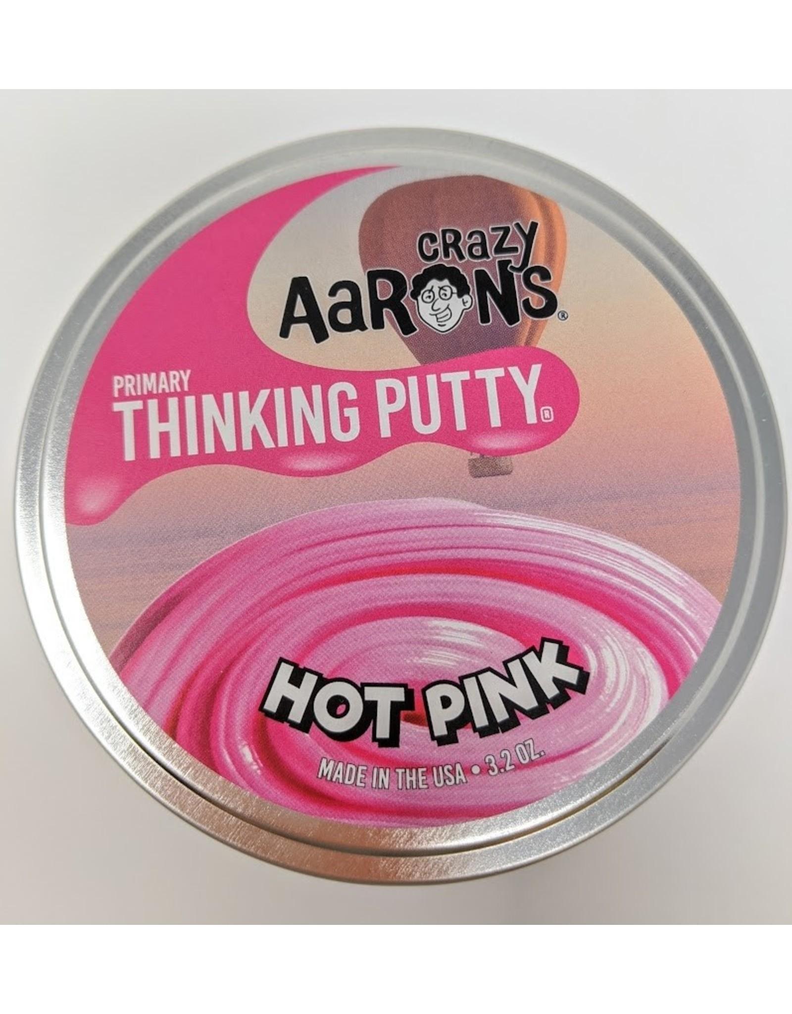 """Crazy Aaron's Primary Hot Pink - 4"""""""