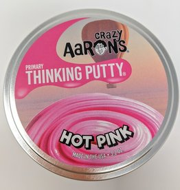 Crazy Aaron's Primary Hot Pink - 4""