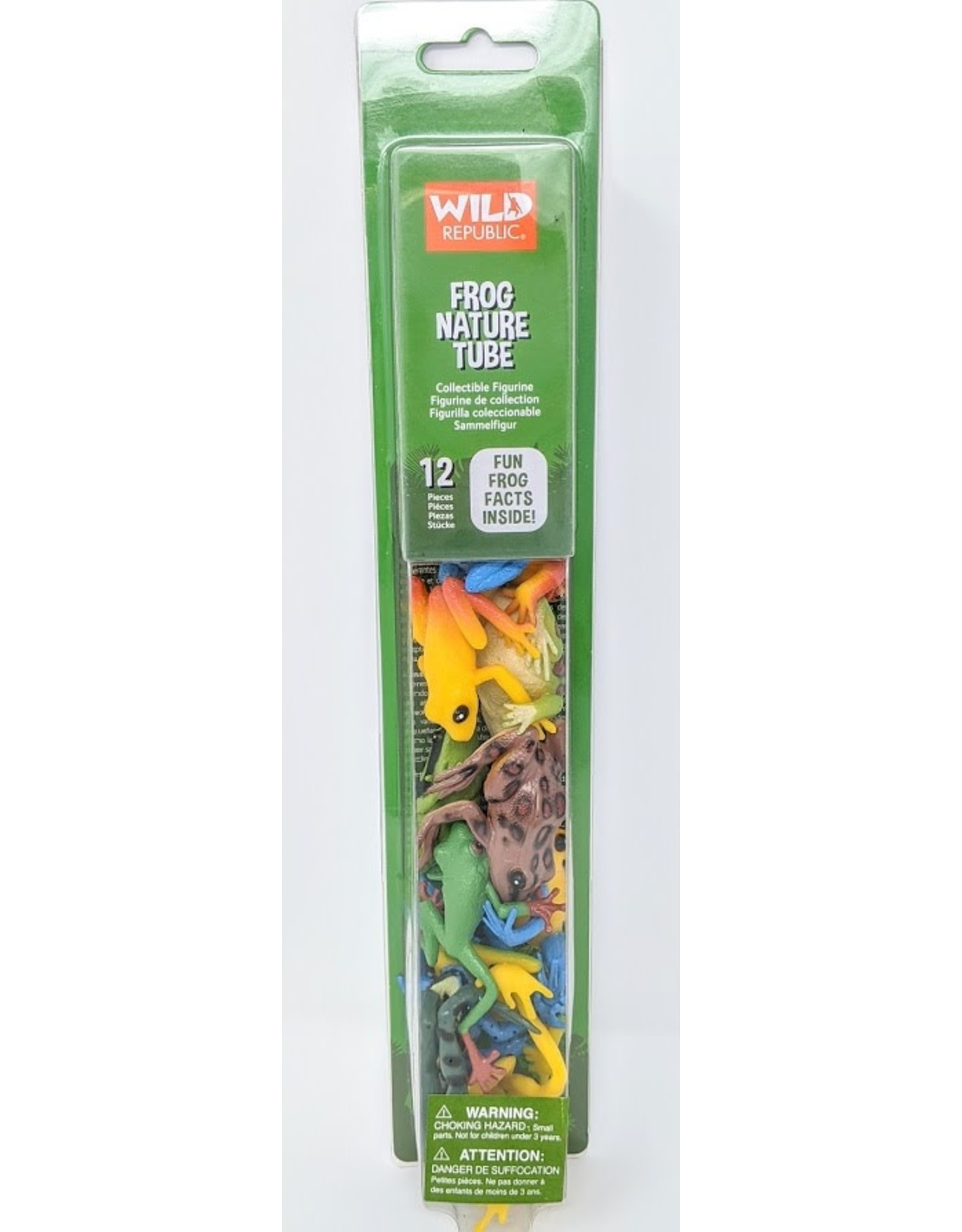 Wild Republic Frogs Nature Tube