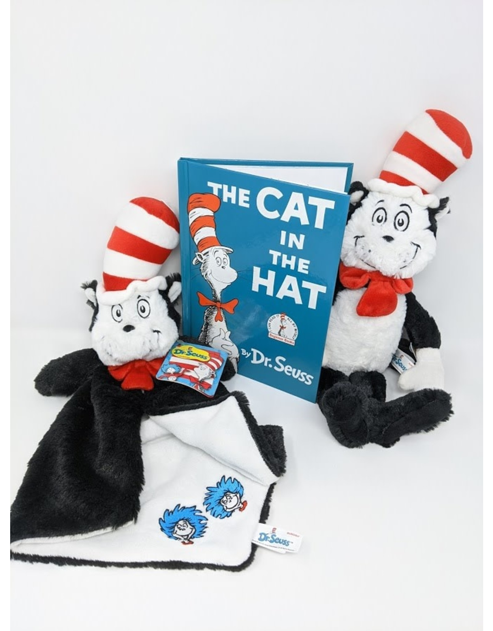 Dr. Seuss Dr. Seuss Gift Package - Cat In The Hat with plush & luvster