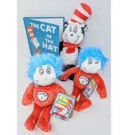 Dr. Seuss Dr. Seuss Gift Package - Cat In The Hat with 3 plush
