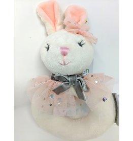 Plush Ring Rattle - bunny