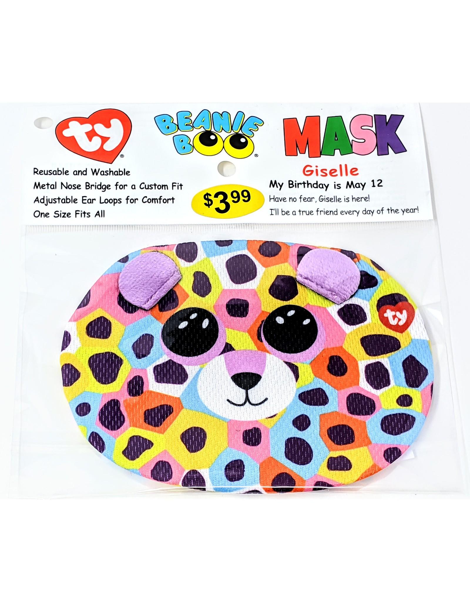 TY Face Mask Beanie Boo -  Giselle